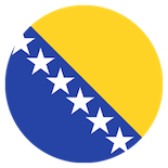 Flag: Bosnia and Herzegovina