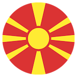Flag: North Macedonia
